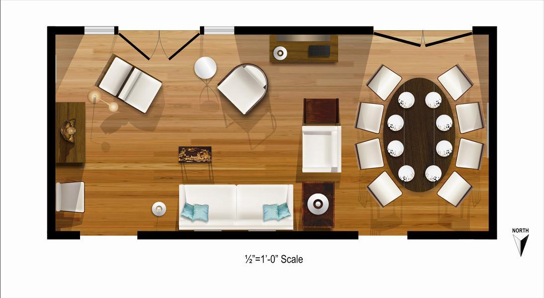 Foundation Dezin & Decor...: Living Room Layout