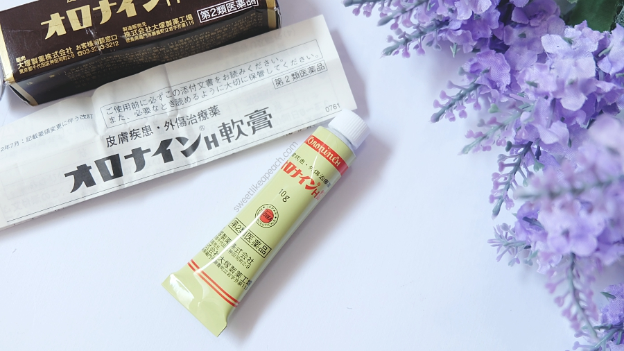 Review Japanese Otsuka Oronine H Ointment