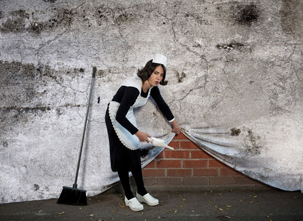 Banksy Artwork Recreated in Real Life-10