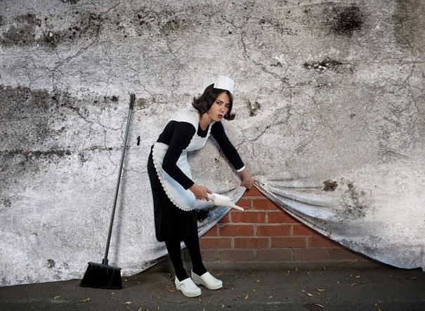 Banksy Artwork Recreated in Real Life-10