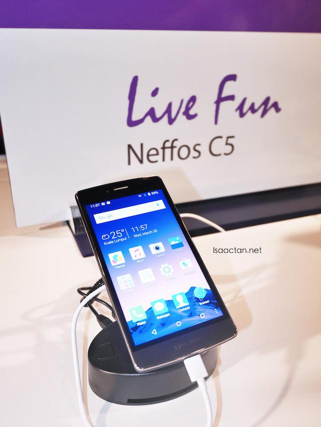 Neffos C5, mid-range smartphone