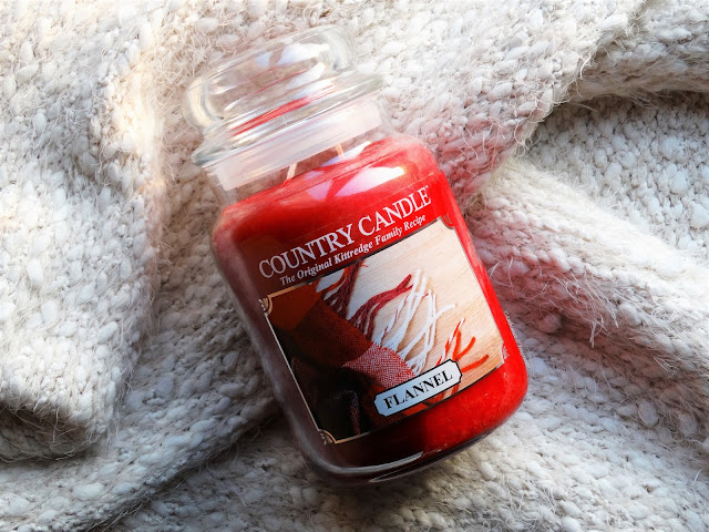 avis Flannel de Country Candle, blog bougie, blog parfum, blog beauté