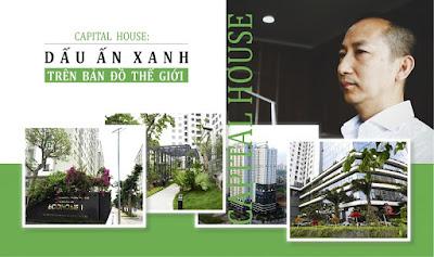 Dấu ấn xanh của Capital House