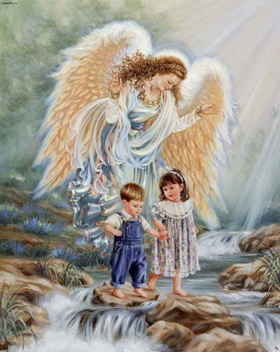 Un ángel de la guarda