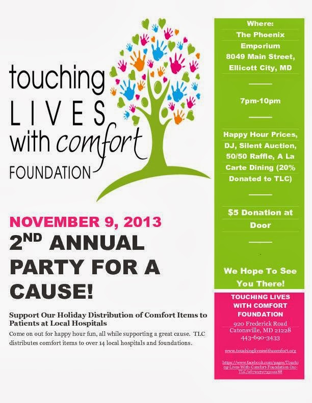 Touching Lives With Comfort Foundation Events