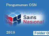 Pengumuman OSN SMP Tahun 2018 Seleksi Tingkat Provinsi