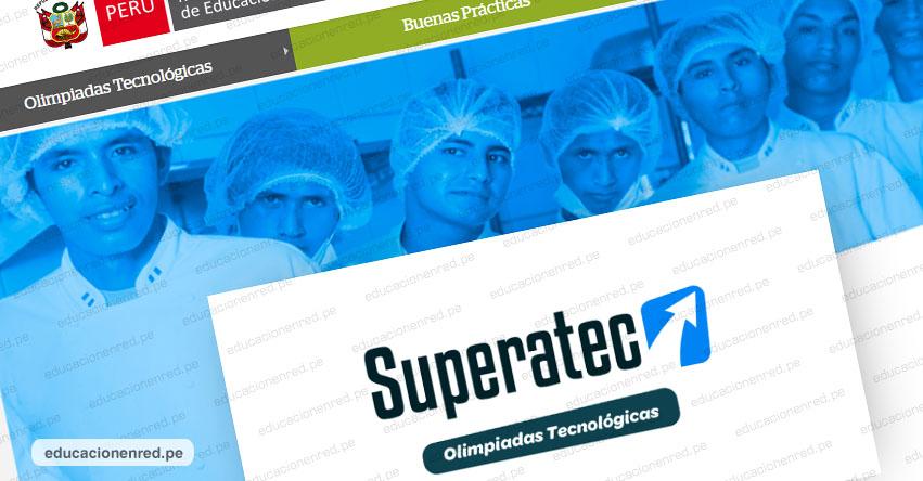 SUPERATEC 2019: Sigue la transmisión en vivo de las Olimpiadas Tecnológicas (6 y 7 Noviembre)