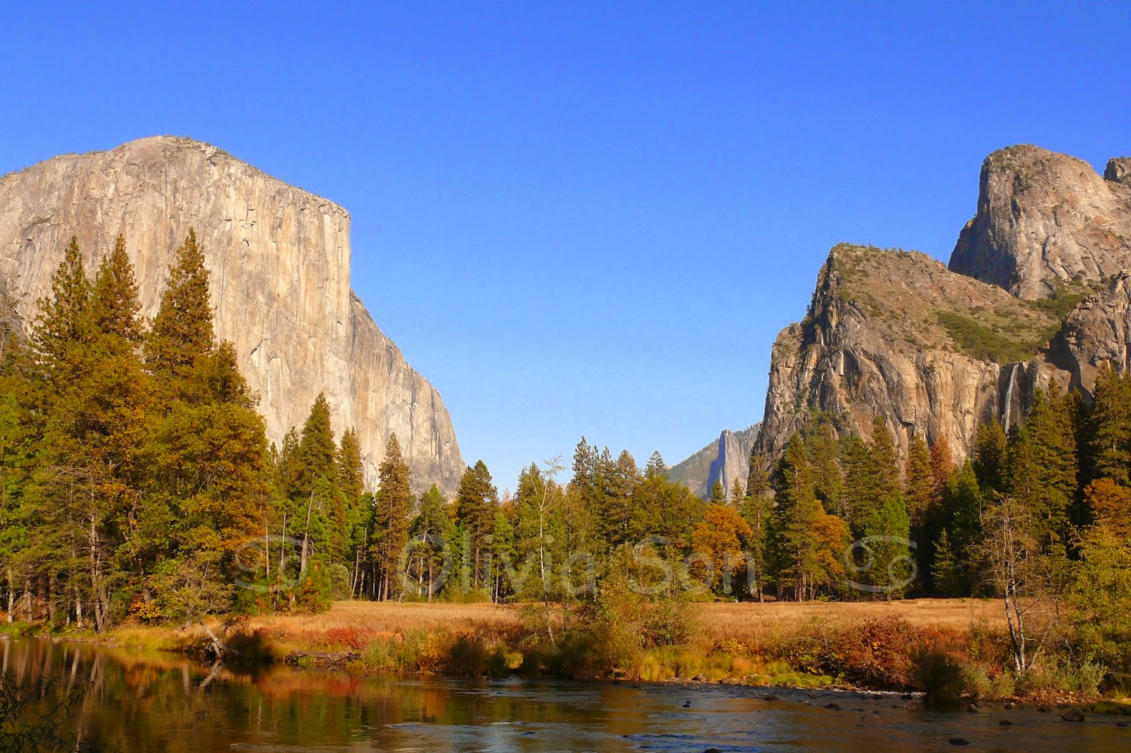 U-shaped valley, Yosemite National Park, California, USA