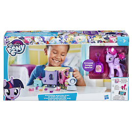 MLP Friendship Express Train Twilight Sparkle Brushable Pony