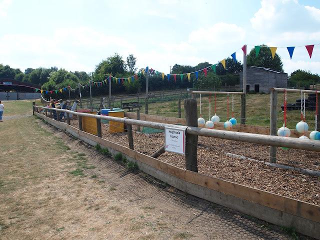 Godstone Farm, Surrey Review - Hogstacle Course
