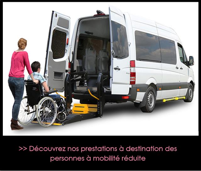 Mpbilité Réduite - Taxi / VTC