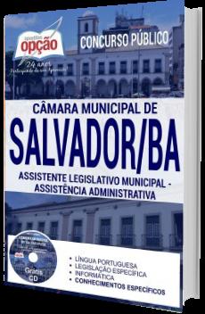 Apostila Concurso Câmara de Salvador 2018 Assistente Legislativo Municipal