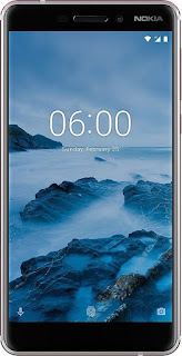 Nokia 6.1 2018 3GB + 32GB, White-Iron