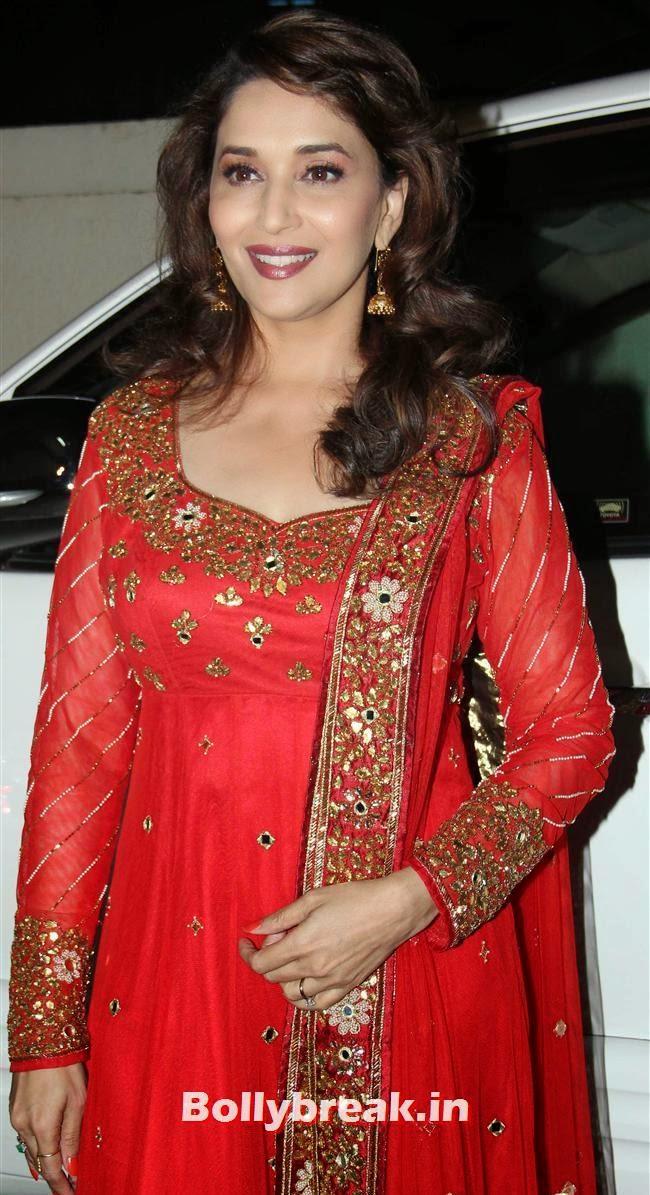 Madhuri Dixit, Gulaab Gang Movie Premiere Pics