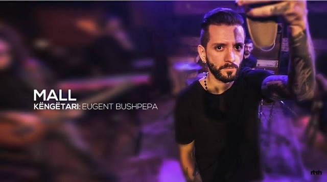 Eurovision 2018 Albania Eugent Bushpepa Mall