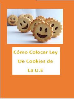 Poner ley de Cookies en tu blog