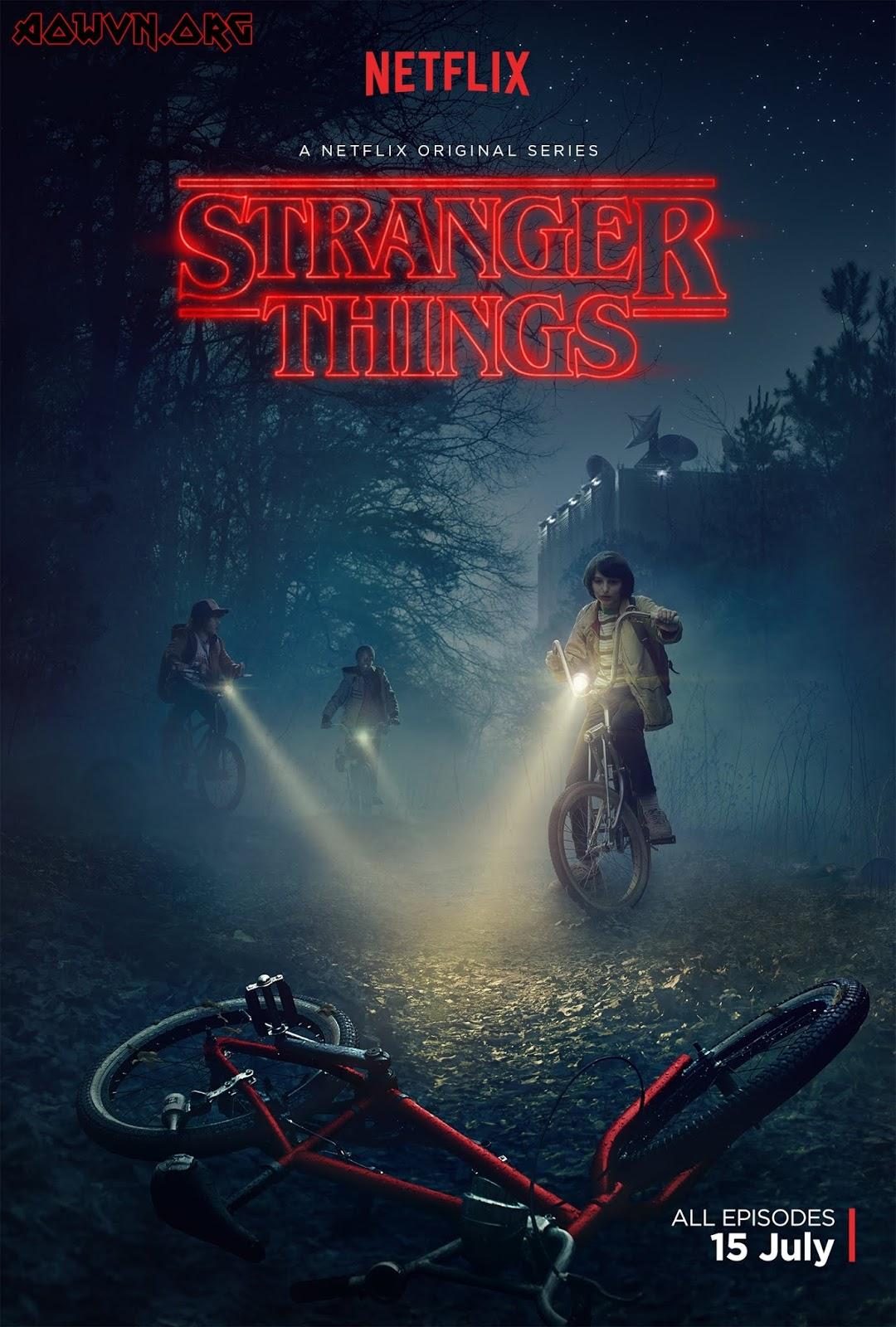 Poster - [ Phim 3gp Mp4 ] Stranger Things SS1 + SS2 | Vietsub - Siêu phẩm Netflix - Kinh Dị - Viễn Tưởng
