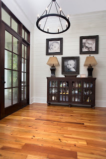 Reclaimed Heart Pine Flooring Home Remodel