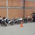 En operativo de tránsito retienen una gran cantidad de motos