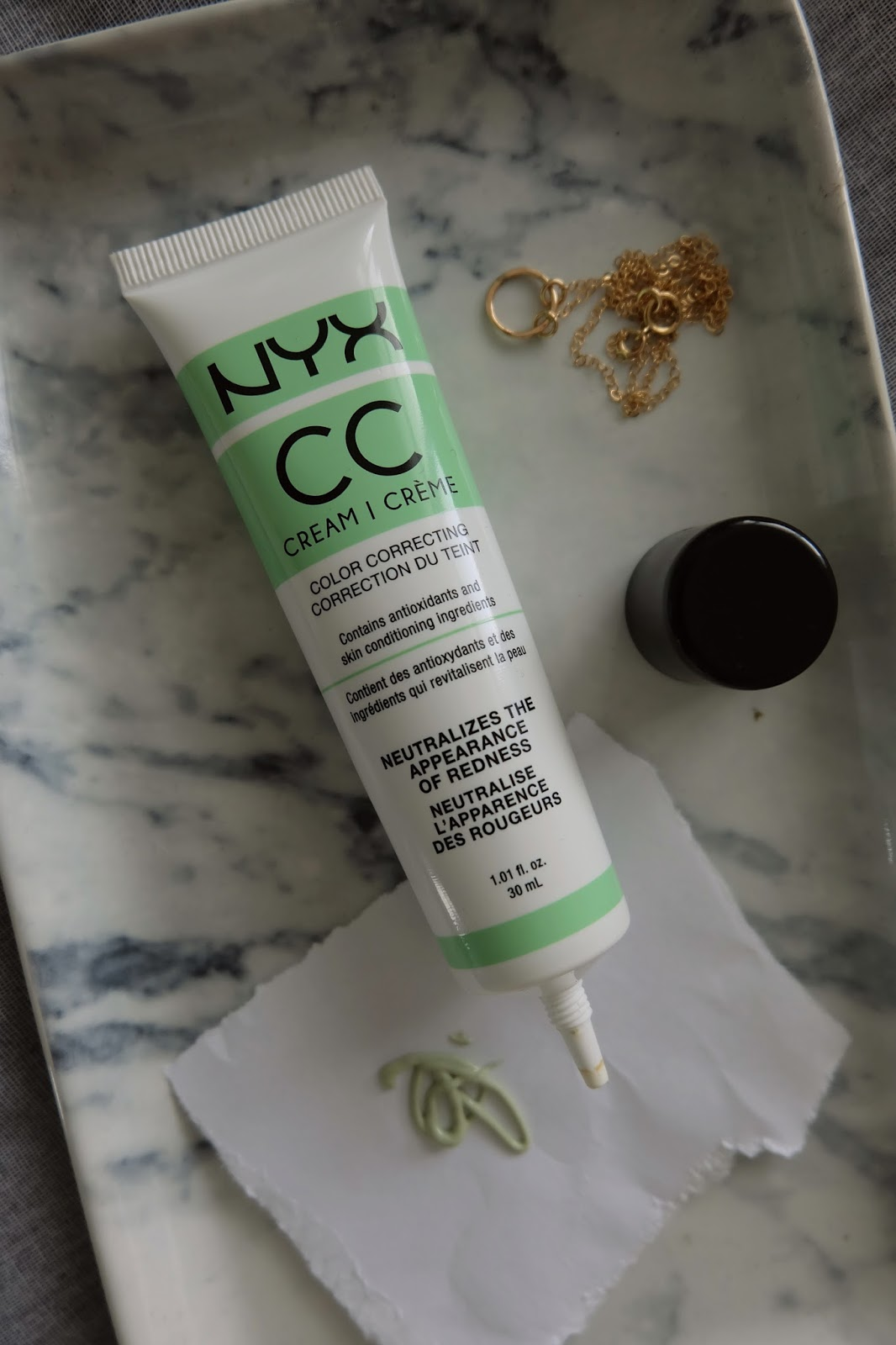 nyx cc cream green review