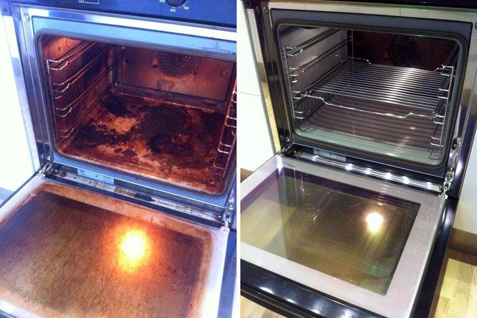 Cleaning Your Oven with Ammonia