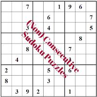 (Non) Consecutive Sudoku Puzzles