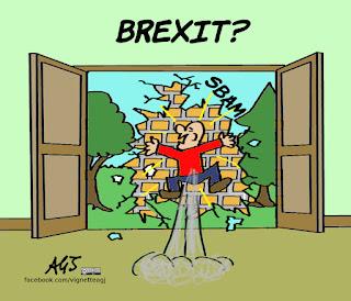 brexit, leave, remain, economia, vignetta, satira