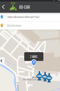 Go-Car di Semarang Kota