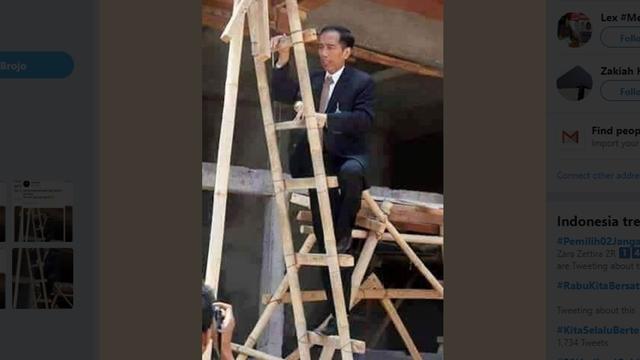 Jokowi Sebut Jas Pakaian Orang Amerika, BPN: Cara Berpikir Kolonial