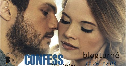 Colleen Hoover: Confess - Vallomás ¤ blogturné