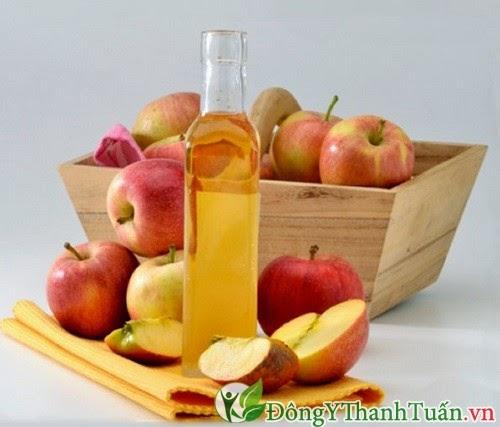 Chữa bệnh hôi miệng hiệu quả bằng giấm táo
