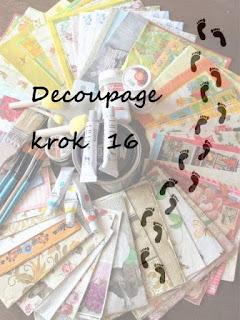 Decoupage - krok 16