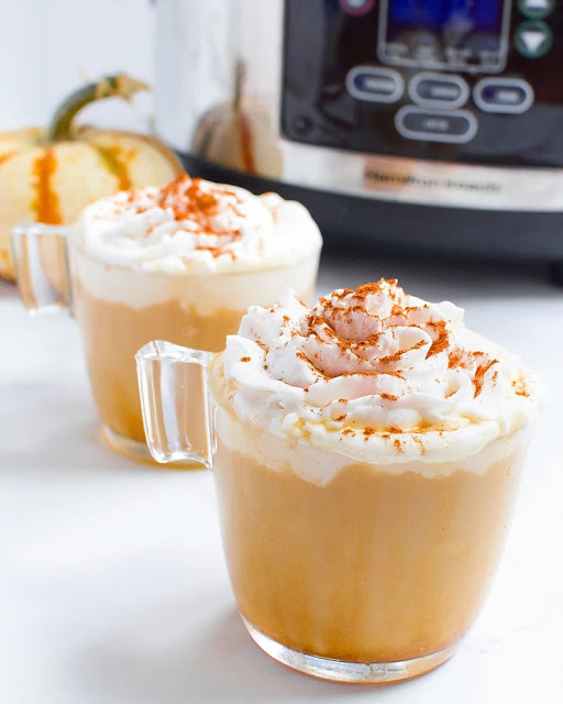 5 Ingredient Pumpkin Spice Lattes