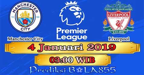 Prediksi Bola855 Manchester City vs Liverpool 4 Januari 2019