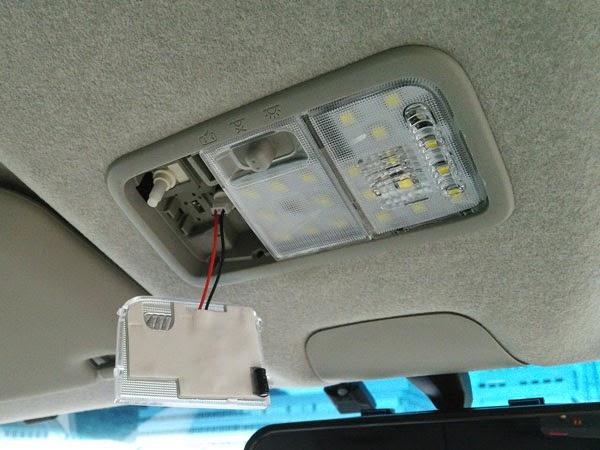 SHARE×STYLE 明るさ調整機能付き!! Z LEDルームランプセット マップランプ