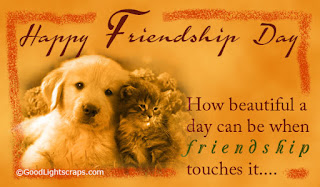 happy friendship day sms