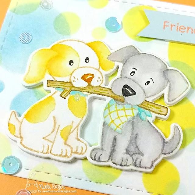 Newton's Nook Designs Puppy Pals Set - Naki Rager