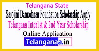 Vidyadhan Scholarship Telangana Inter 1st 2nd Year Application