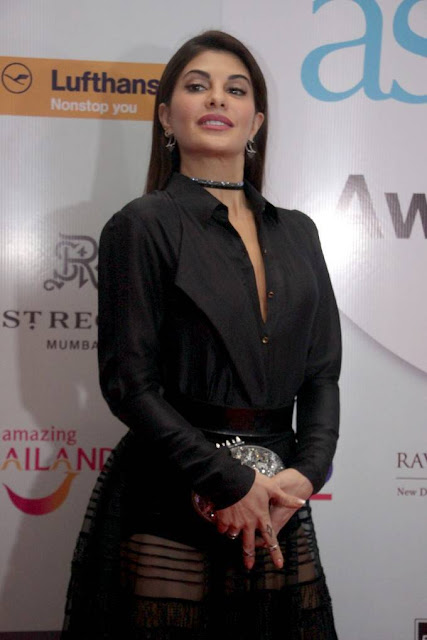 Jacqueline Fernandez Stills At Geo Asia Spa Awards 2017