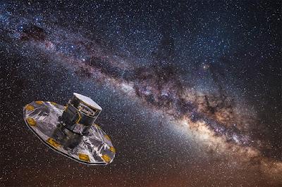 I primi dati di Gaia dell'ESA