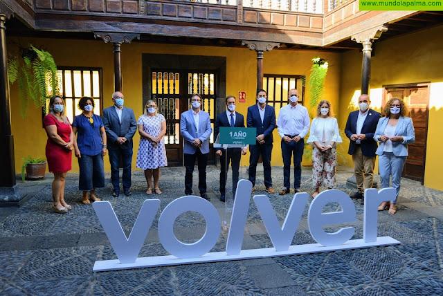 El gobierno insular del Cabildo de La Palma cumple un año de gestión marcado por la unidad de acción y las decisiones valientes frente a las adversidades
