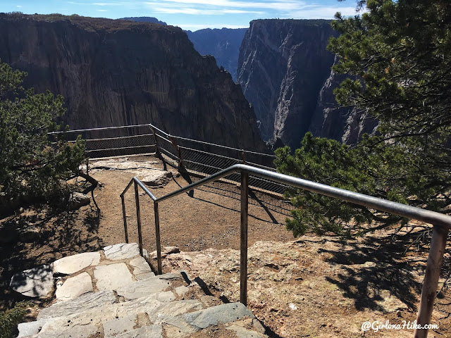 Hiking the North Vista Trail, Black Canyon of the Gunnison National Park, Chasm Nature Trail