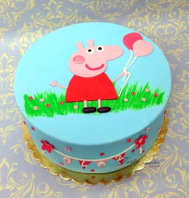 tort świnka peppa
