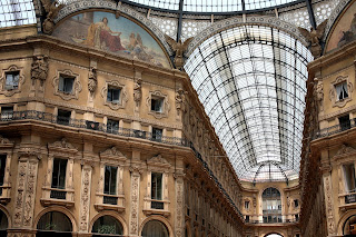 The beautiful Galleria Vittorio Emanuele II