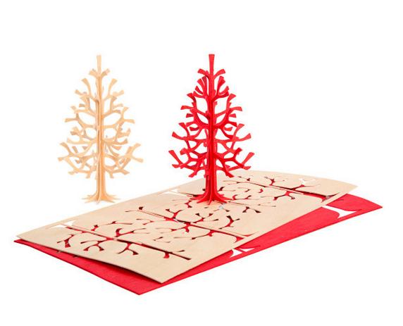 wood card