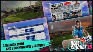 Real Cricket 19 Apk Mod Dinheiro Infinito