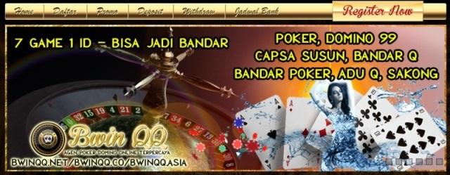 BwinQQ.casino situs agen domino qq terbaik 2018
