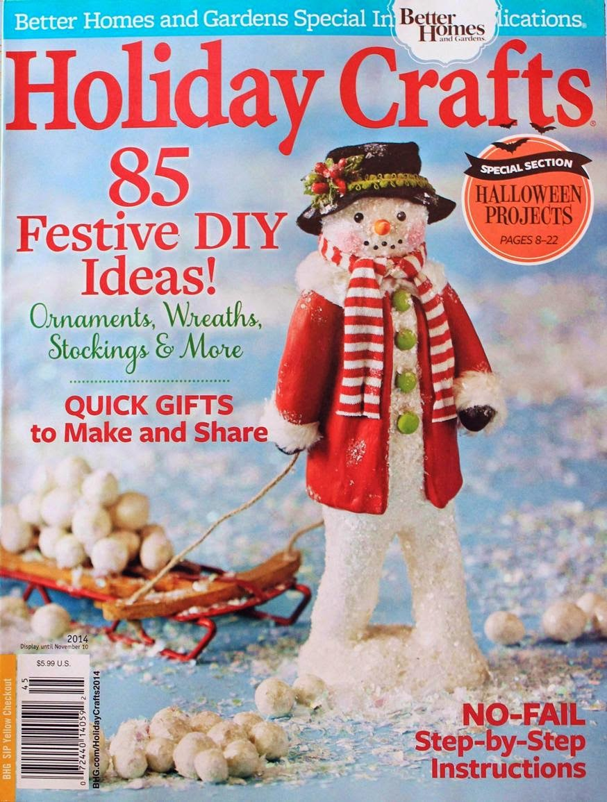 My snowman featured on the cover!