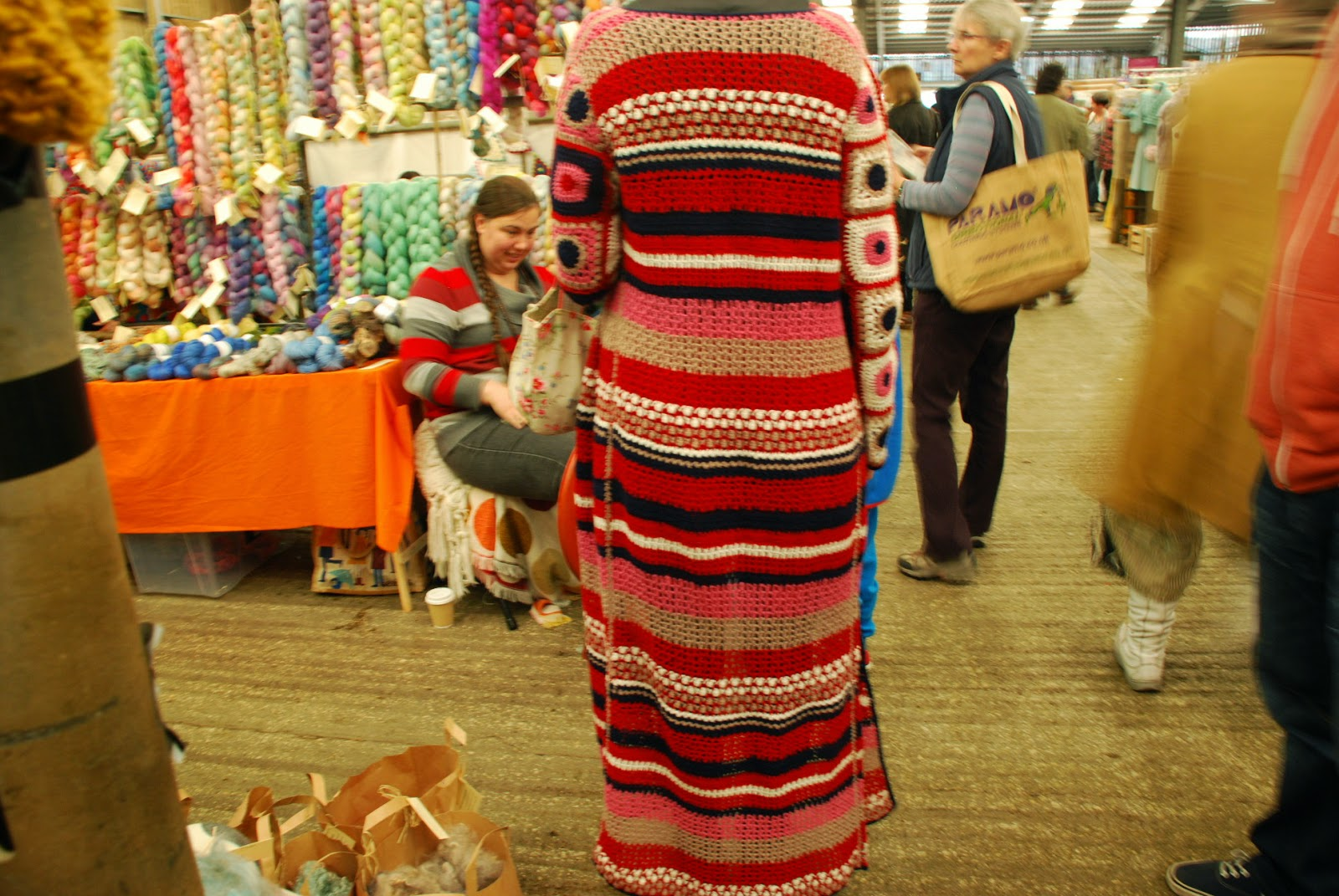 image of crochet coat