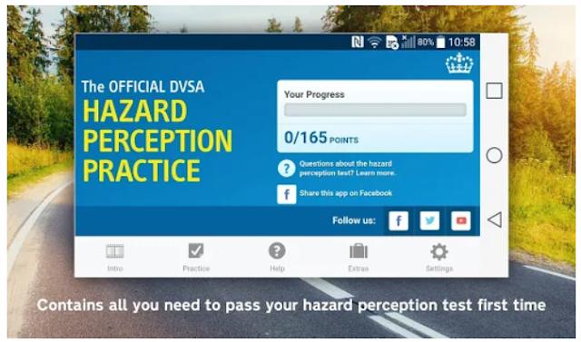 Official DVSA Hazard Perception Practice
